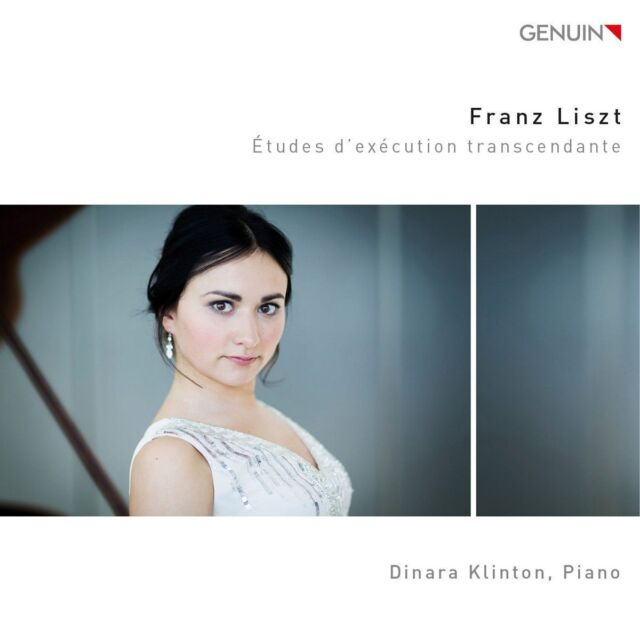 CD Dinara Klinton Franz Liszt Etudes d'execution transcendante