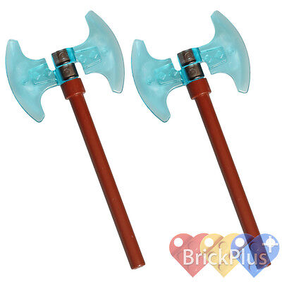 LEGO Legends of Chima ROYAL VALIOUS BLADE Sword Weapons Trans Light Blue 70005