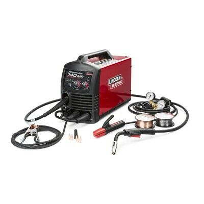 Lincoln Power Mig 140 Mp Multi Process Welder K4498-1