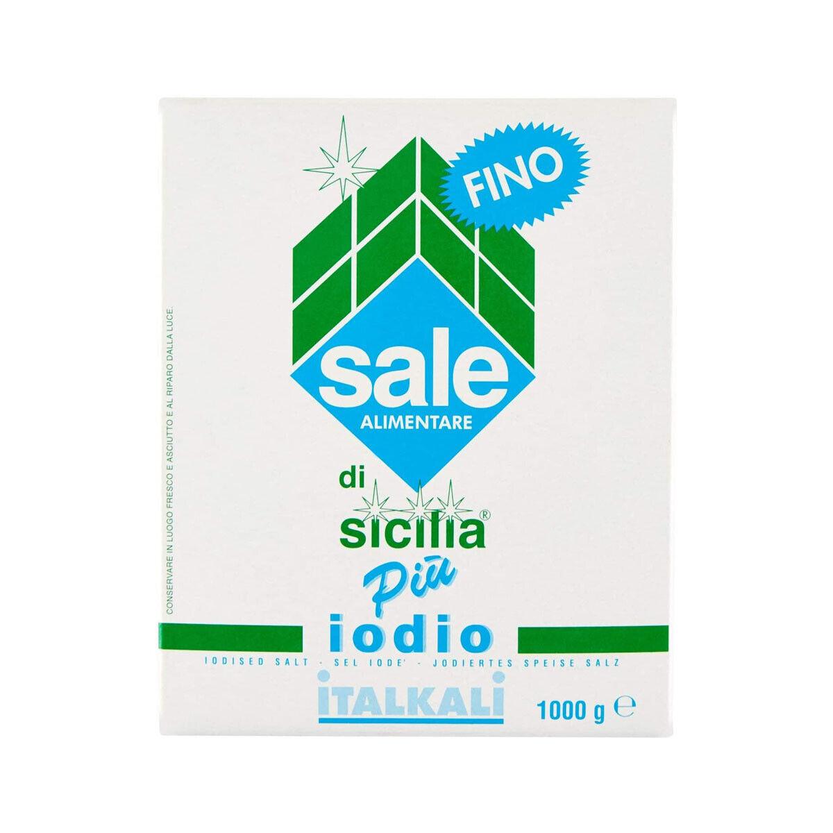 5,90 € per Sale Di Sicilia Più Iodio Fino Confezione Da 1kg Italkali  su eBay.it