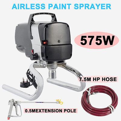 Airless Paint Sprayer 3045PSI Electric Spray Machine Spray Gun Piston Pump 575W