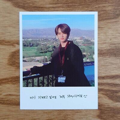 Lee Know Official Polaroid Photocard Stray Kids 1st Album Go生 Go Saeng Genuine