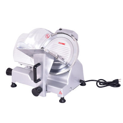 10 Electric Commercial Meat Slicer Blade Deli Meat Cheese Food Slicer Cutter