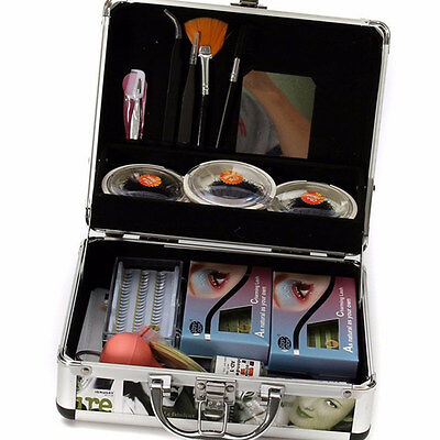 Full Extension Kit ( Lash Starter Kit Full False Eyelash Individual Eyelashes Extension Makeup Tools)