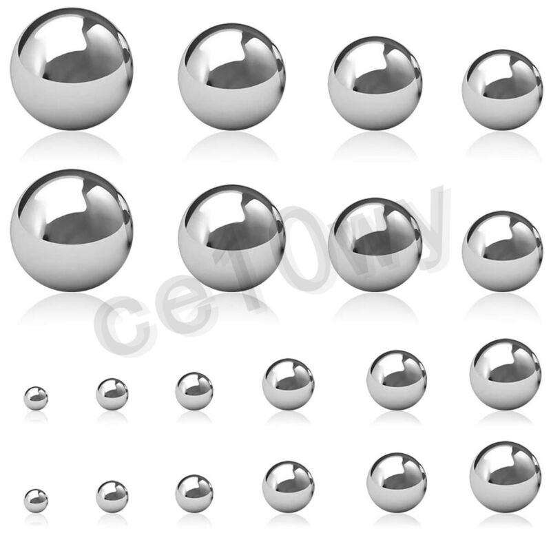 304 Stainless Steel Ball Dia 1mm-100mm High Precision Bearing Balls Smooth Ball