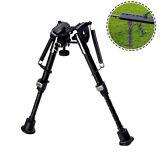 "6"" To 9"" Adjustable Spring Return Sniper Hunting Rifle Bipod Sling Swivel Mount"