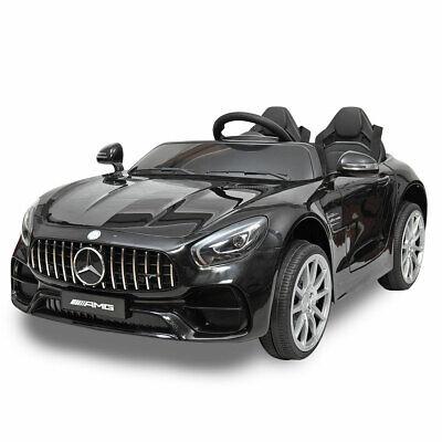 Electric Mercedes Benz Kids Ride On Car 12V Licensed w/ Remote Control MP3 Black