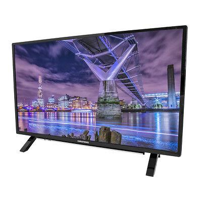 Grundig LED-TV 32 Zoll, Full HD, HD-Triple-Tuner, DVB-T2, Smart TV, schwarz