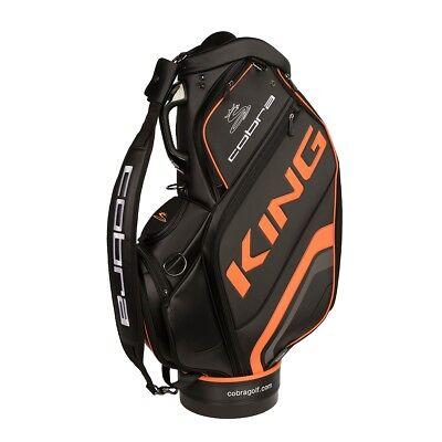Cobra King Staff Bag Golfbag black orange Puma Golftasche extra groß