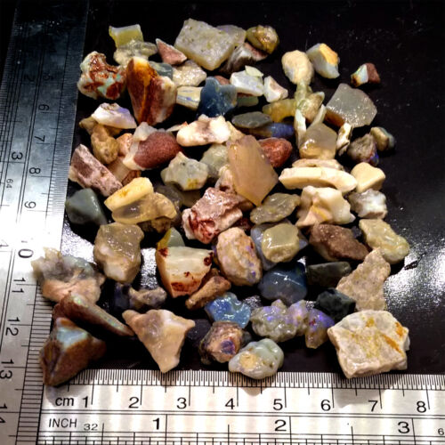 1.5oz Rough Opal Chips & Snips 5 Mines Mix