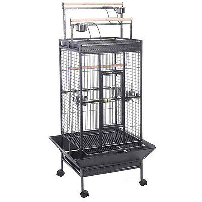 New Parrot Bird Finch Cage Cockatiel Parakeet Ladder Iron House Pet Supply