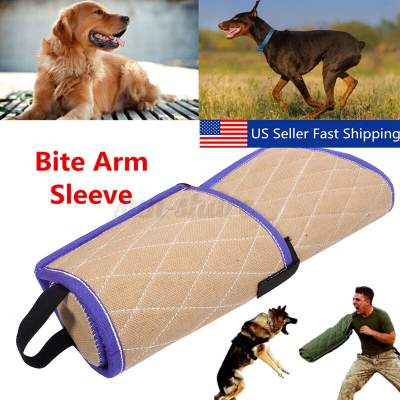 Young Dogs Training Bite Sleeve Arm Protection Intermediate for Police Working