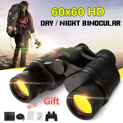 60X Militaire Jumelles Monoculaire Camping Vision Nocturne 3000M Coordonnées HD