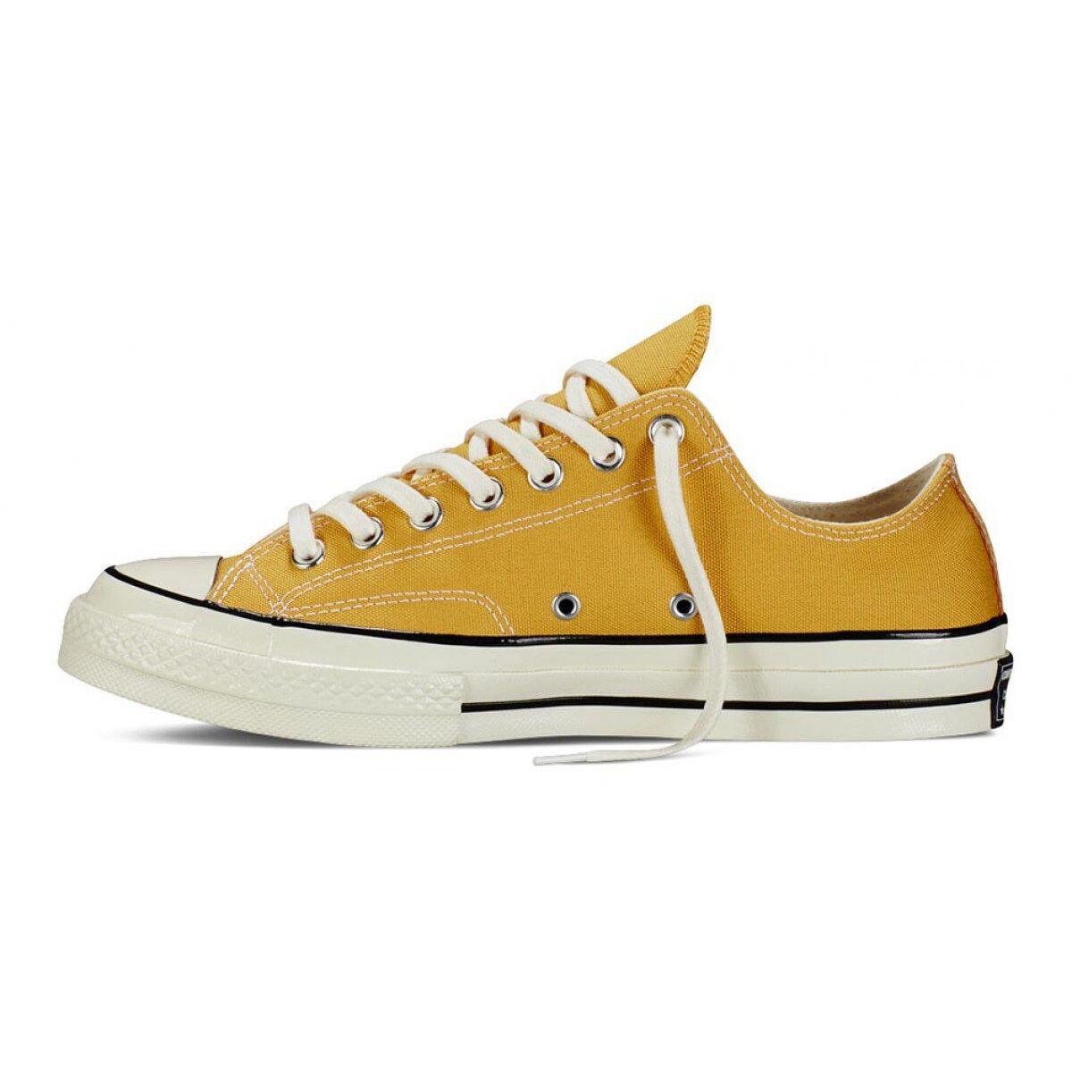 sprawdzić najnowszy 100% wysokiej jakości Details about Converse Chuck Taylor All Star Low 1970s Sunflower Yellow FS  151229C 162063C
