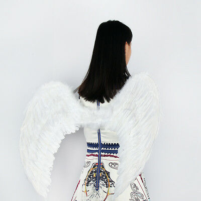 🔥Christmas Adults Feather Angel Fairy Wings Sweet Kids Baby Fancy Dress Up Part - Fairy Fancy Dress Adults
