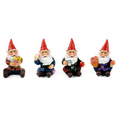 My Fairy Gardens Mini - Cheerful Gnomes - Set of 4 - Supplies
