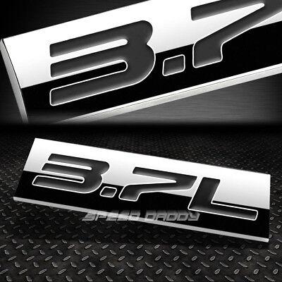 Z Chrome Metal 3.7 Fender Side Boot Emblem Badge Decal For infiniti Q50 QX70 14
