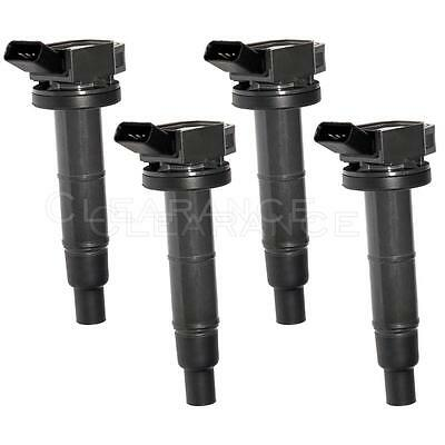 SET OF 4 IGNITION COILS FOR 01-12 Toyota Camry Lexus Scion 1.8L 2.4L UF333 C1330
