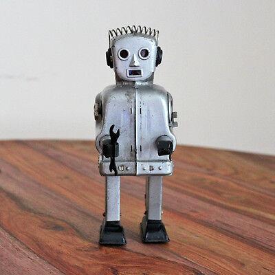 Vintage Nomura Tin Robot - 1950s, Zoomer, Sparky, Radar, Japan