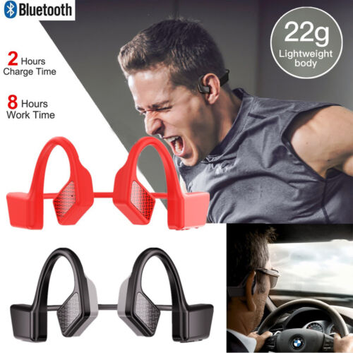 Bone Conduction Headphones Bluetooth 5.0 Wireless Earbuds Outdoor Sport Headset Cell Phone Accessories