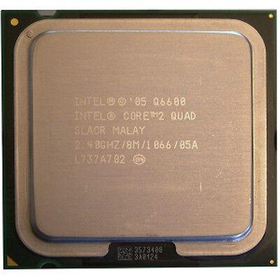 Intel Core 2 Quad CPU Q6600 2.4GHz/8M/1066 LGA775 SLACR/SL9UM