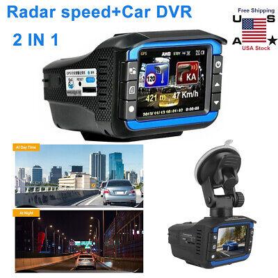 HD1080P Anti Radar Laser Speed Detector Car DVR Gravador Video Dash Camera Night