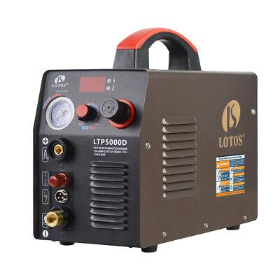 Lotos Ltp5000d 50amp Non-touch Pilot Arc Plasma Cutter Brown 110v220v