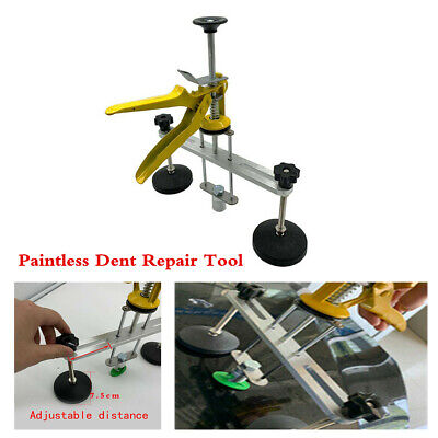T-Rod Dent Puller Car Body Repair Slide Hammer Kit For Paintless Dent Removal