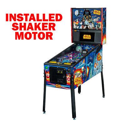 Stern Star Wars Comic Art Pro Pinball with Shaker