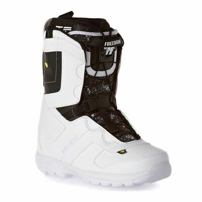 freedom sl men s snowboard boots white