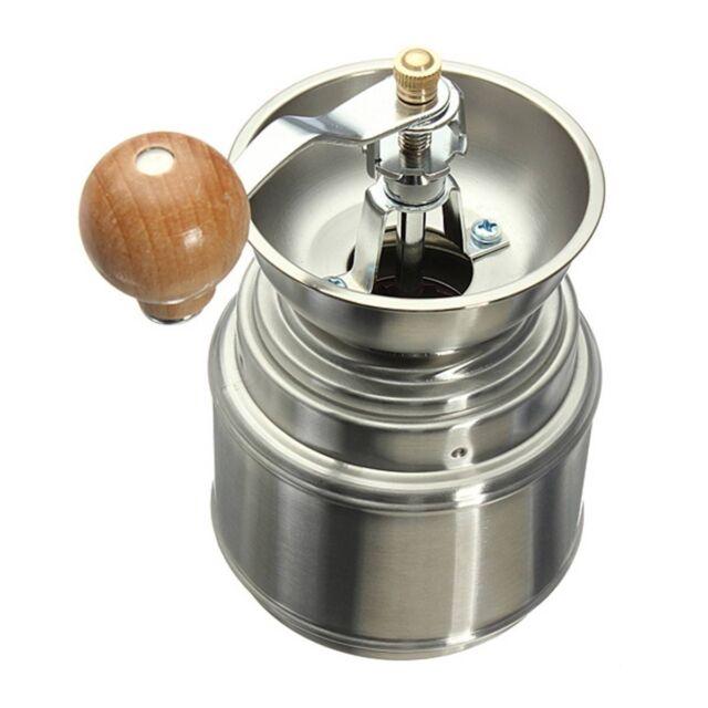 K4747 Stainless Steel Manual Spice Bean Coffee Grinder Burr Grinder Mill