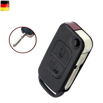 1x Mercedes Schlüsselgehäuse 2 Tasten Autoschlüssel 30(A, C, E, G, M, S, SL)