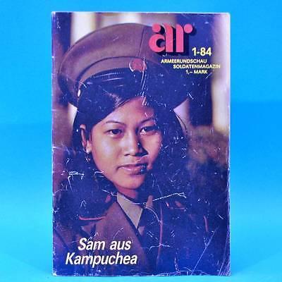Armeerundschau 1-1984 NVA Volksarmee Pontoniere Perleberg Judit Szücs B. Karda W