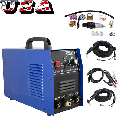 3 In 1 Tigmma Air Plasma Cutter Welder Welding Torch Machine 3 Functions 110v