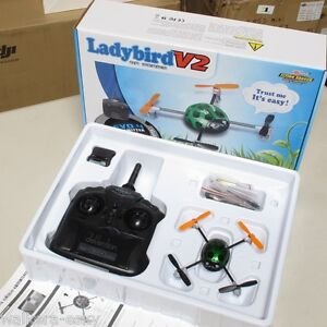 Walkera QR Ladybird V2 Mini Quadcopter with Transmitter Devo 4 RTF-US stock