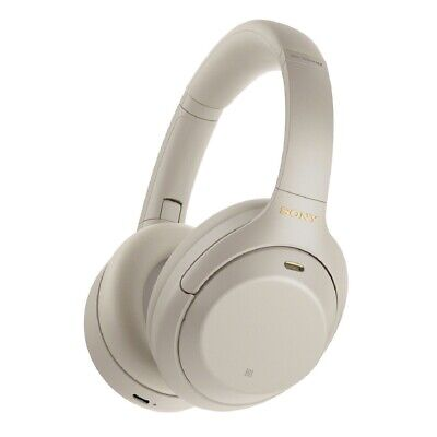 Sony WH-1000XM4 Wireless Noise-Canceling Over-Ear Headphones Auriculares - Plata