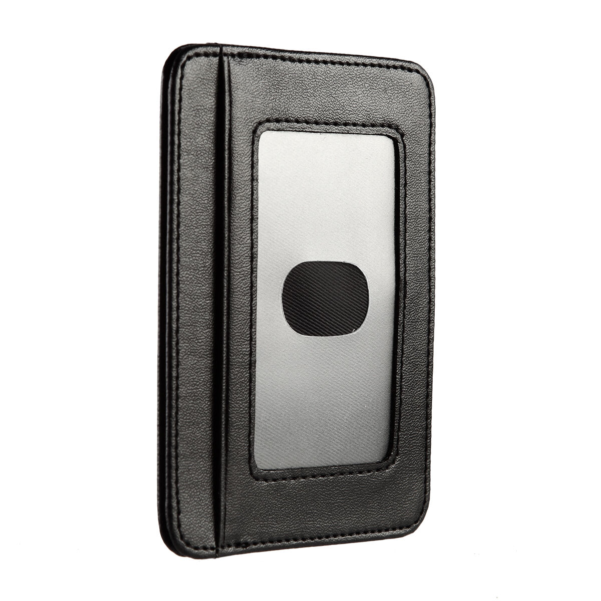 2 Pieces Slim Wallet RFID Wallet Minimalist Men Women Credit