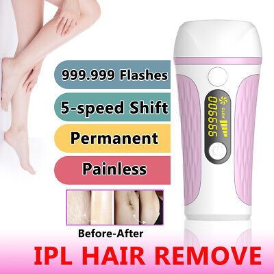 999,999 Flashes Laser Hair Removal Epilator Permanent IPL Body Electric