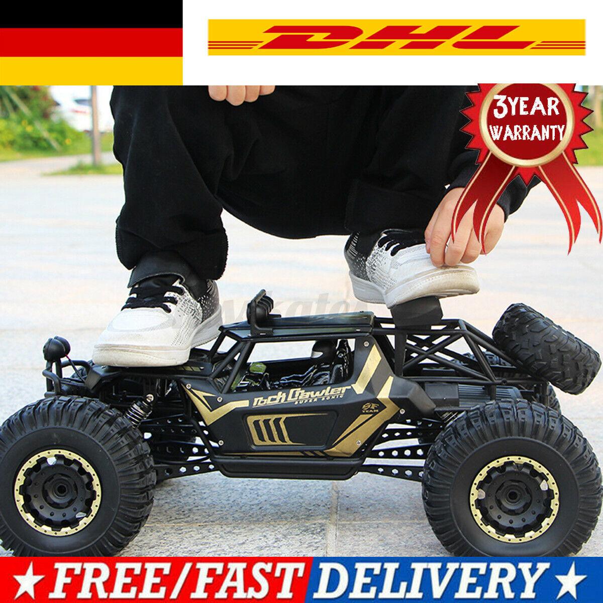 Metall 1:8 RC Auto Monster Truck erngesteuertes 4WD Geländewagen Stoßdämpfer