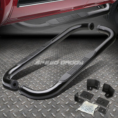 "FOR 87-06 JEEP WRANGLER TJ/TJU/LJ SUV BLACK 3"" SIDE STEP NERF BAR RUNNING BOARD"