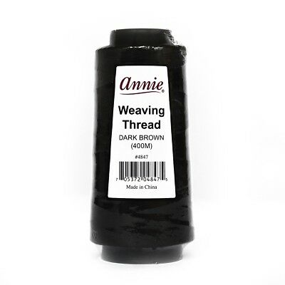 (0,01€/1m) Annie Weaving Thread 400m dunkelbraun Weaving-Faden