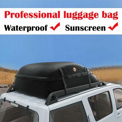 Car Roof Top Carrier Bag Rack Waterproof Storage Luggage Cargo Travel Durable M Roof Rack Storage