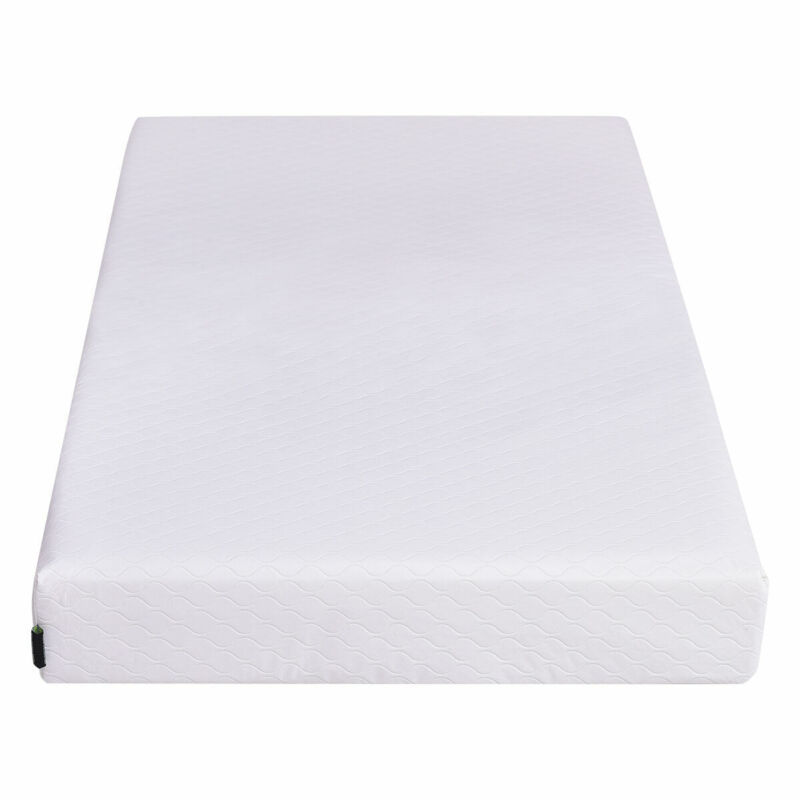 Memory Foam Baby Crib Mattress Toddler Infant Comfort Removable Waterproof Cover