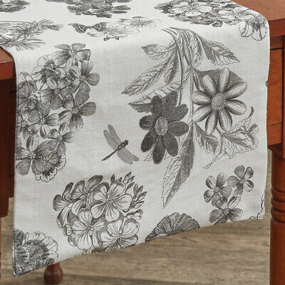 Geranium Table Runner 36