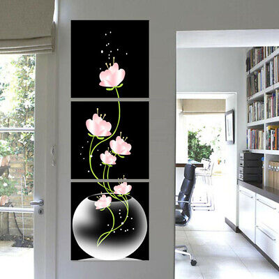Modern Abstract Flower Art Canvas Print Painting Picture Home Room Wall Decor