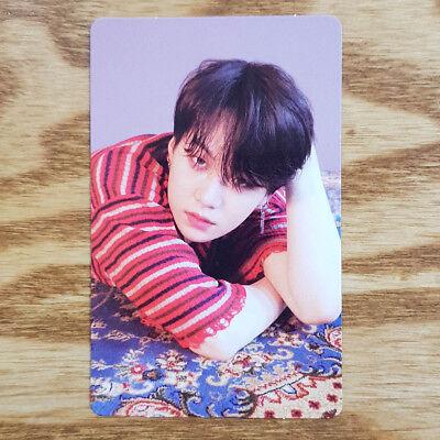 Suga Official Photocard BTS Love Yourself Tear O Version Fake Love Kpop