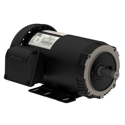 00218et3e145tc-s Weg 2hp Electric Motor 1800rpm Ip55 1435tc 208-230460v 3ph