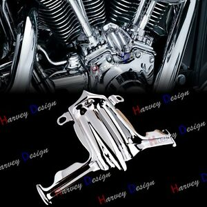 Lot Of Misc Harley Davidson Chrome Motorcycle Parts Softail