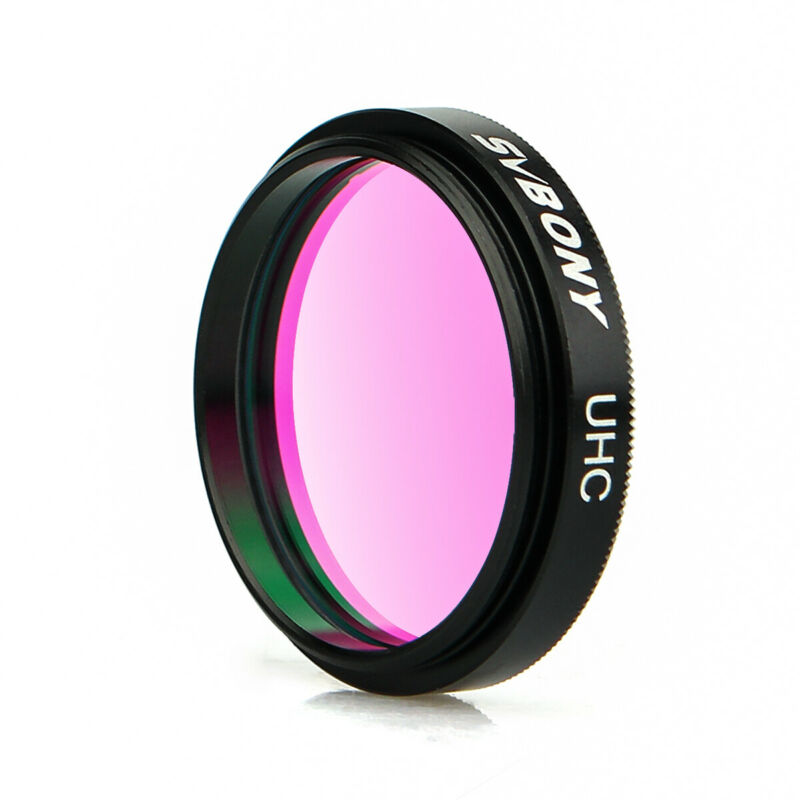 """1.25"""" UHC Telescope Eyepieces Filters Ultra High Contrast Cuts Light Pollution"""