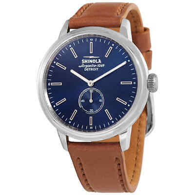 Shinola The Bedrock Quartz Blue Dial Men's Watch S020058979